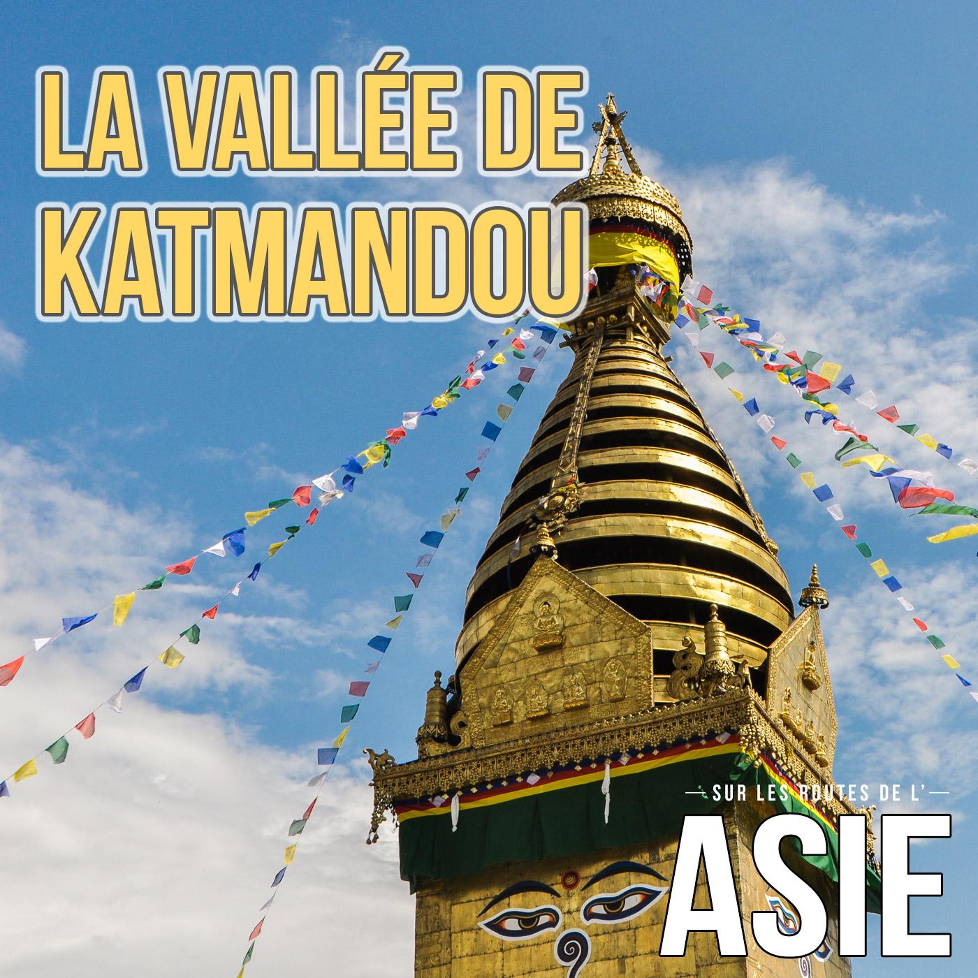 La vallée de Katmandou (Népal)